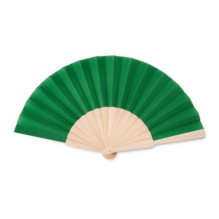 Houten-waaiers-bedrukken-groen
