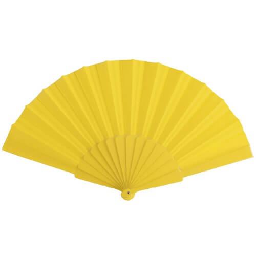 Goedkope-waaiers-bedrukken-geel