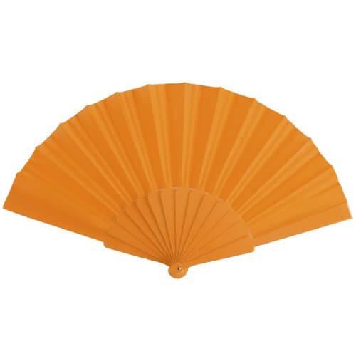 Goedkope-waaiers-bedrukken-oranje
