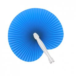 Papieren-waaiers-bedrukken-blauw