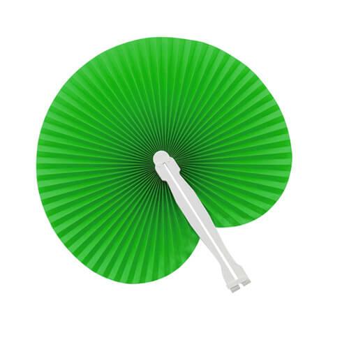 Papieren-waaiers-bedrukken-groen