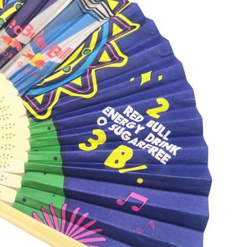 Bamboe-waaiers-bedrukken-papieren-doek