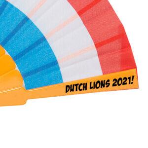 Oranje-Holland-waaiers-bedrukken-drukpositie-met-logo