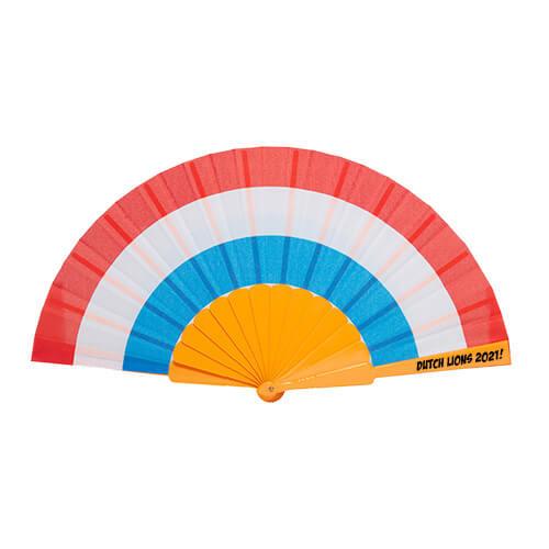 Oranje-Holland-waaiers-bedrukken-met-logo